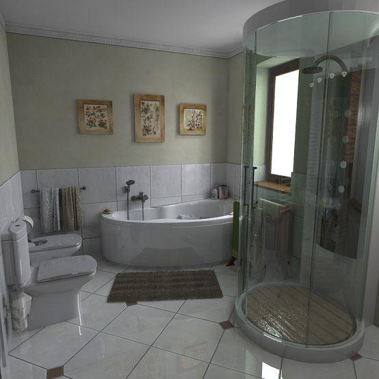 Fürdőszoba - Lakberendezés - MDS Építésziroda