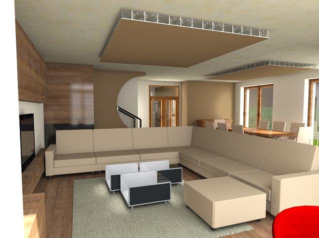 Nappali terek - Lakberendezés - MDS Építésziroda